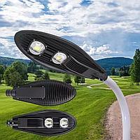 Светодиодный консольный LED светильник 50W 100W 150W 200W  6000К  уличный