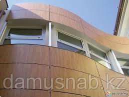 Монтаж НР панелей на фасад.