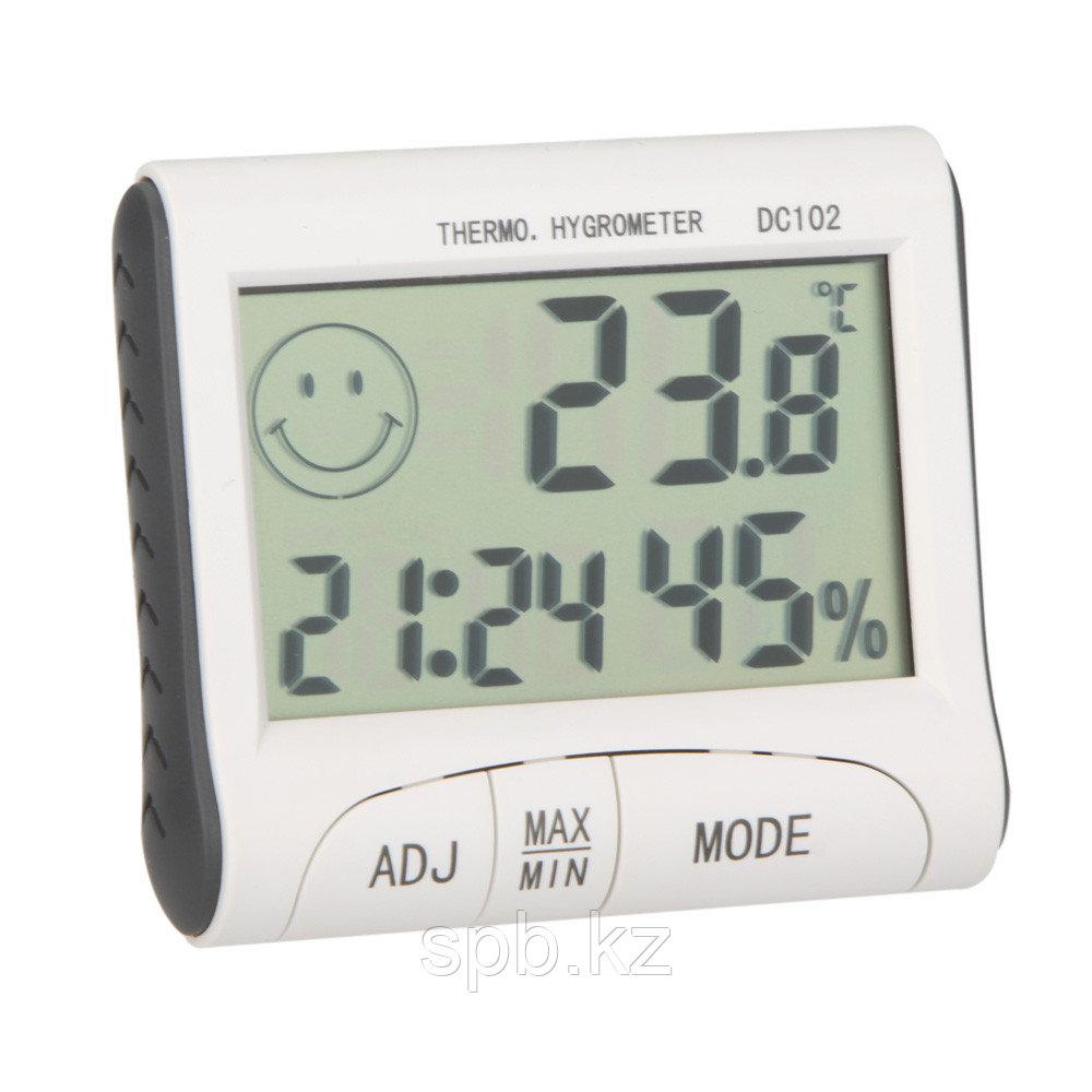 Цифровой термометр с гигрометром DC102