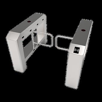 Турникет распашной SBT3022S c контроллером и комбинированным биометрическим считывателем