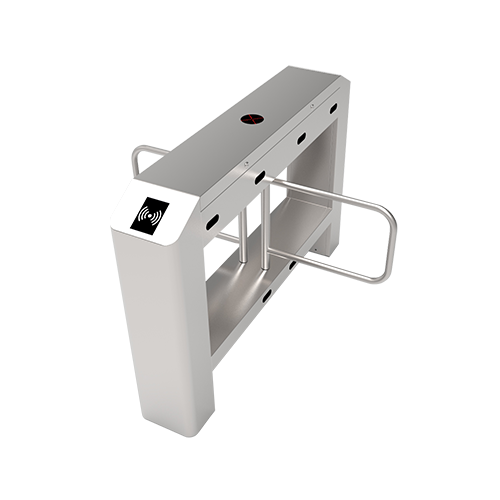 Турникет распашной SBT3222S c контроллером и комбинированным биометрическим считывателем