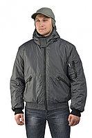 "Куртка демисезонная с капюшоном URSUS ""БОМБЕР"" (тк.джордан)(серый)"
