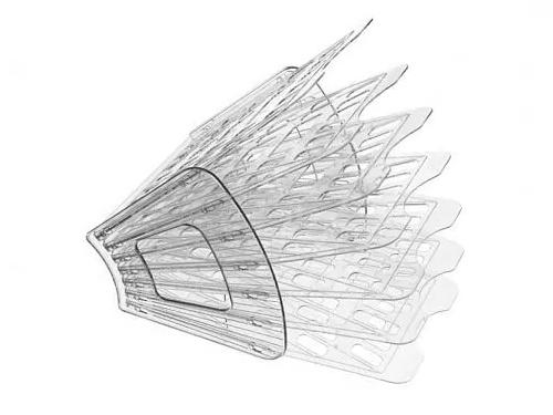 Лоток СТАММ 6 отделений, прозрачный