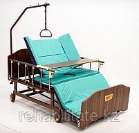 Медицинская кровать для ухода за лежачими больными с переворотом и туалетом МЕТ REMEKS XL