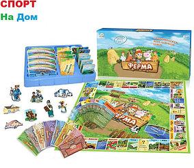 Настольная игра Монополия Ферма для всей семьи для 2-6 игроков