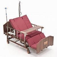 """Кровать функциональная медицинская электрическая с полным переворотом, с туалетом, с """"ушками"""" MET EVA, фото 1"""