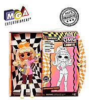 LOL OMG Lights Светящаяся Кукла Неон ЛОЛ ОМГ Спидстер (Speedster), 3 серия, ЛОЛ Сюрприз