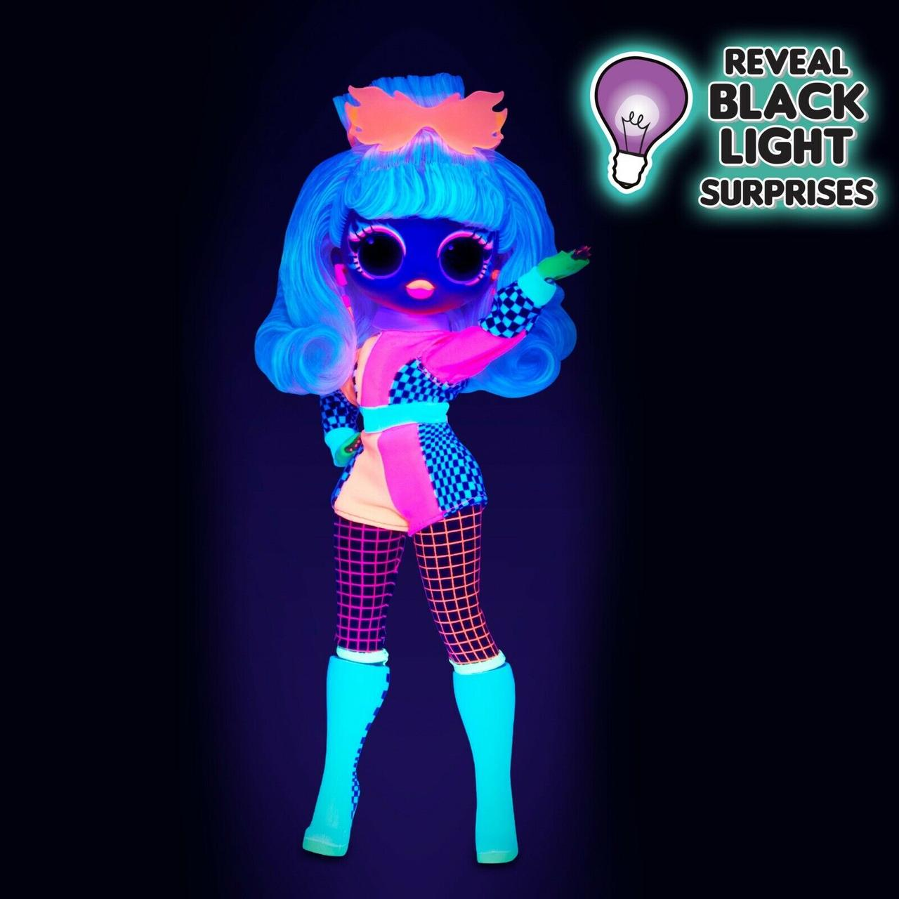 LOL OMG Lights Светящаяся Кукла Неон ЛОЛ ОМГ Спидстер (Speedster), 3 серия, ЛОЛ Сюрприз - фото 5