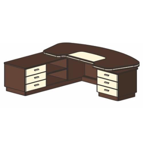 Письменный стол И321 П/Л