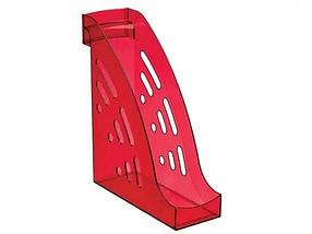 """Лоток вертикальный СТАММ """"ТОРНАДО"""" темно-красный """"Вишня"""""""