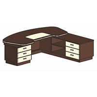 Письменный стол И341 П/Л