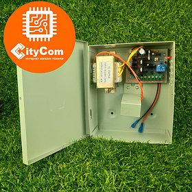 Блок питания для СКУД с функцией автономной работы DS-805 с 220В на 12В Арт.6227