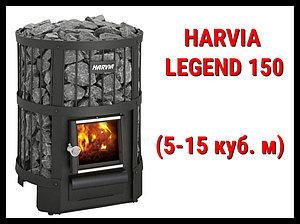 Дровяная печь Harvia Legend 150 с внутренней топкой