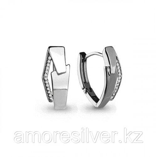 Серебряные серьги  Aquamarine 45656А.5