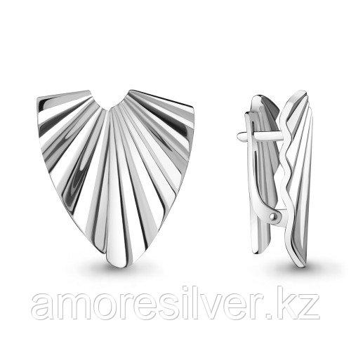 Серебряные серьги   Aquamarine 33719.5