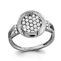 Кольцо из серебра  Aquamarine 62359А.5
