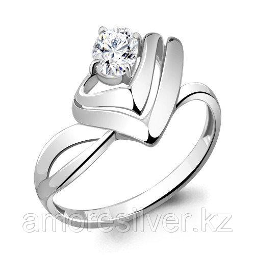 Серебряное кольцо  Aquamarine 64894.5