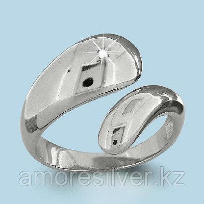 Серебряное кольцо с фианитом  Aquamarine 64116А.5