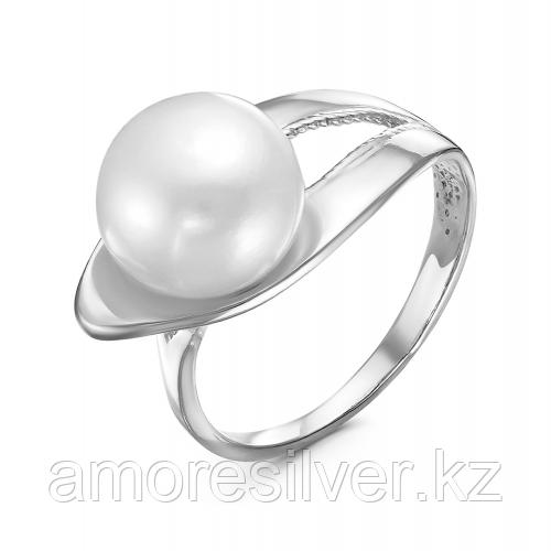 Кольцо из серебра с жемчугом культ.  Красная пресня 23311546Д размеры - 18,5