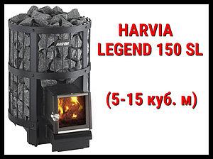 Дровяная печь Harvia Legend 150 SL с выносной топкой