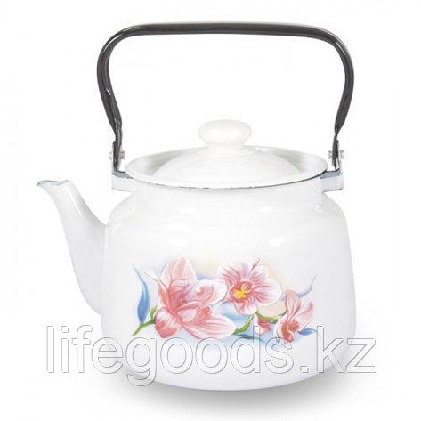 """Чайник 3,5л """"Сиреневая орхидея"""", фото 2"""