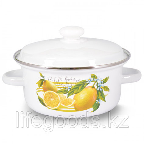 "Кастрюля 4,0л ""Лимон"" I18145/2лим, фото 2"