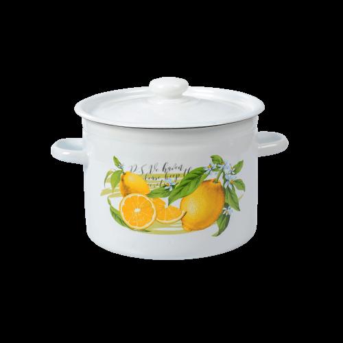 """Кастрюля 5,5л """"Лимон"""""""