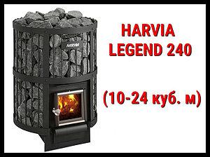 Дровяная печь Harvia Legend 240 с внутренней топкой