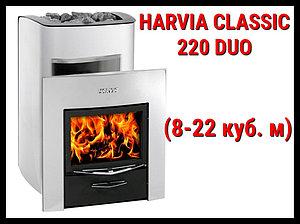 Дровяная печь Harvia Classic 220 Duo с выносной топкой
