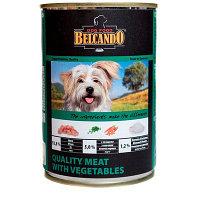 512 545 Belcando Best Quality meat with vegetable, Белькандо корм для собак телятина с овощами, уп.6*400гр