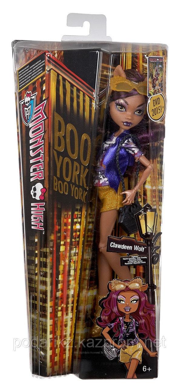Кукла Монстер Хай Клодин Вульф, Monster High Boo York - Clawdeen Wolf - фото 1