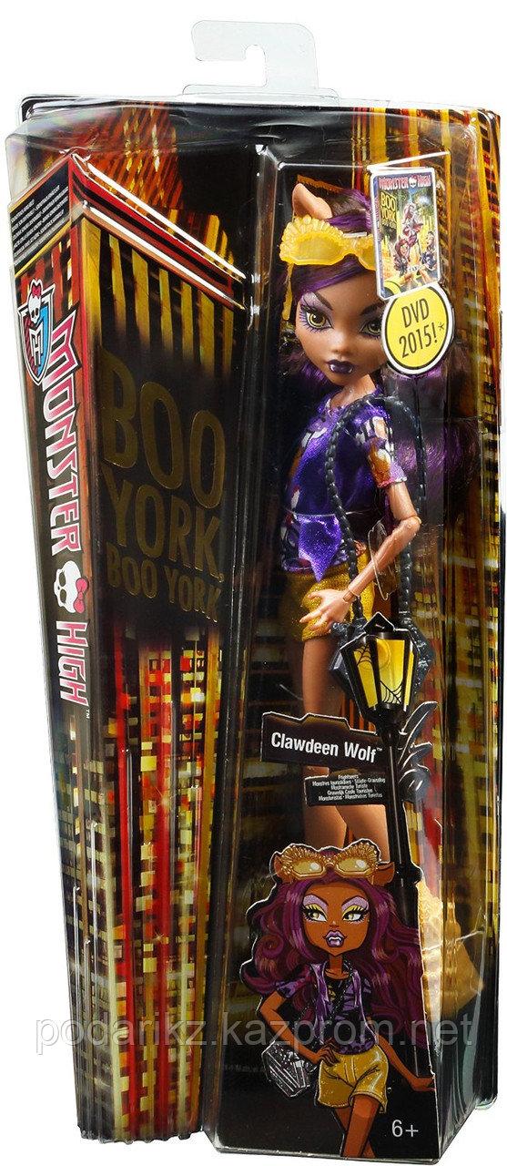 Кукла Монстер Хай Клодин Вульф, Monster High Boo York - Clawdeen Wolf - фото 8
