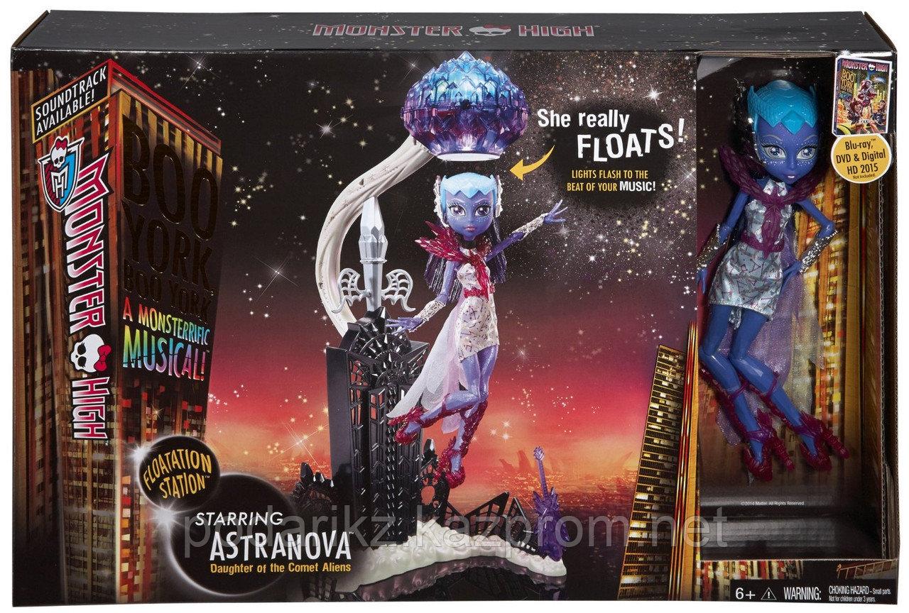 Набор с куклой Монстр Хай Астранова, Monster High Boo York - Floatation Station and Astronova - фото 1