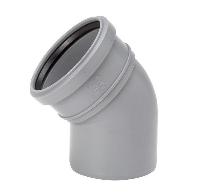 Отвод канализационный / Dirsek 45° (3,2мм)