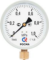 Манометр Росма ТМ-510 М2 100Вакуумметр ТВ Мановакуумметр ТМВ серии 10G½ / M20×1,5радиальное монометр,