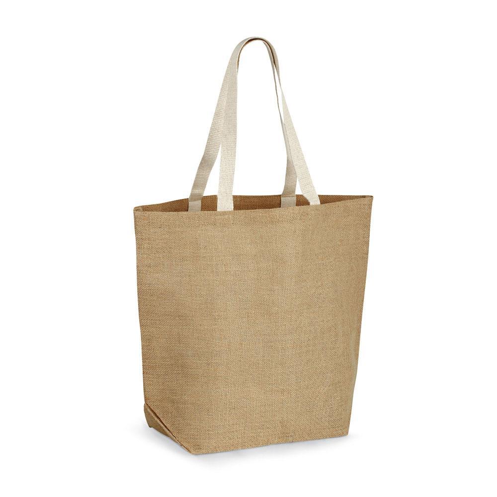 Джутовая сумка для покупок, TIZZY