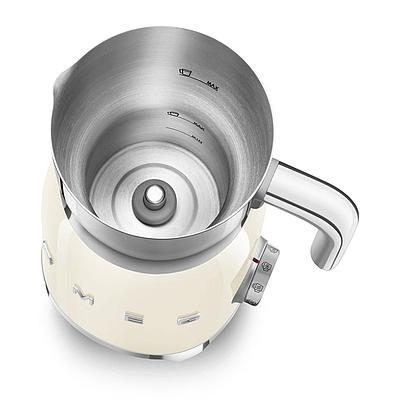 Вспениватель молока SMEG MFF01CREU кремовый