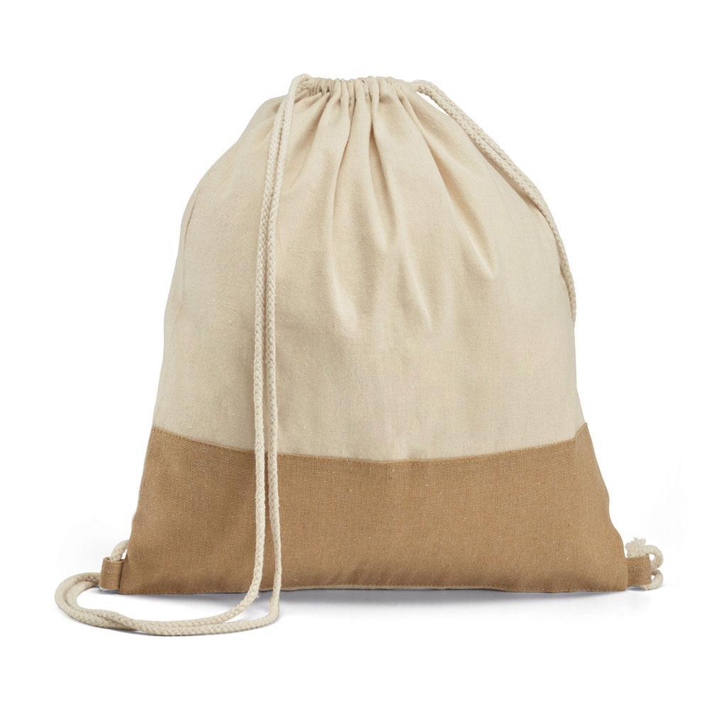 Сумка в формате рюкзака из 100% хлопка, SABLON