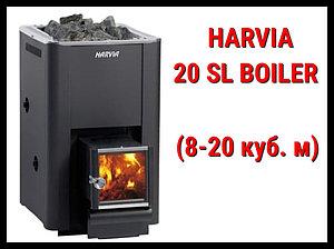 Дровяная печь Harvia 20 Sl Boiler с выносной топкой