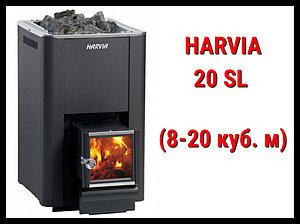 Дровяная печь Harvia 20 Sl с выносной топкой