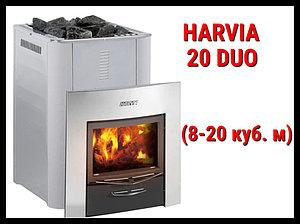 Дровяная печь Harvia 20 Duo с выносной топкой