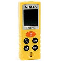 """Дальномер лазерный, """"LDM-40"""", дальность 40 м, 5 функций, STAYER Professional"""