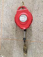 Стальной втяжной трос с блокирующим устройством 15мтр /Retractable type fall arrester
