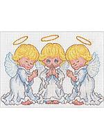 65167-70-DMS Набор для вышивания Dimensions 'Маленькие ангелочки' 18х13см