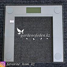 """Весы электронные, напольные """"Ravenda RV-2165"""". Материал: Стекло. Цвет: Серый. Предел нагрузки: 180кг."""