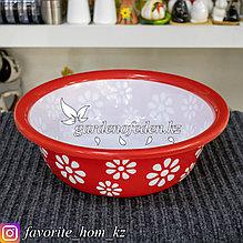 Чашка для хранения универсальная. Материал: Пластик. Цвет: Красный/Белый.