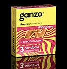 Презервативы «Ganzo» Long Love, с анестетиком, 3 шт, фото 3