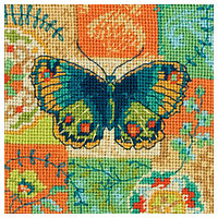 7243-71-DMS Набор для вышивания Dimensions 'Бабочка', 13х13 см