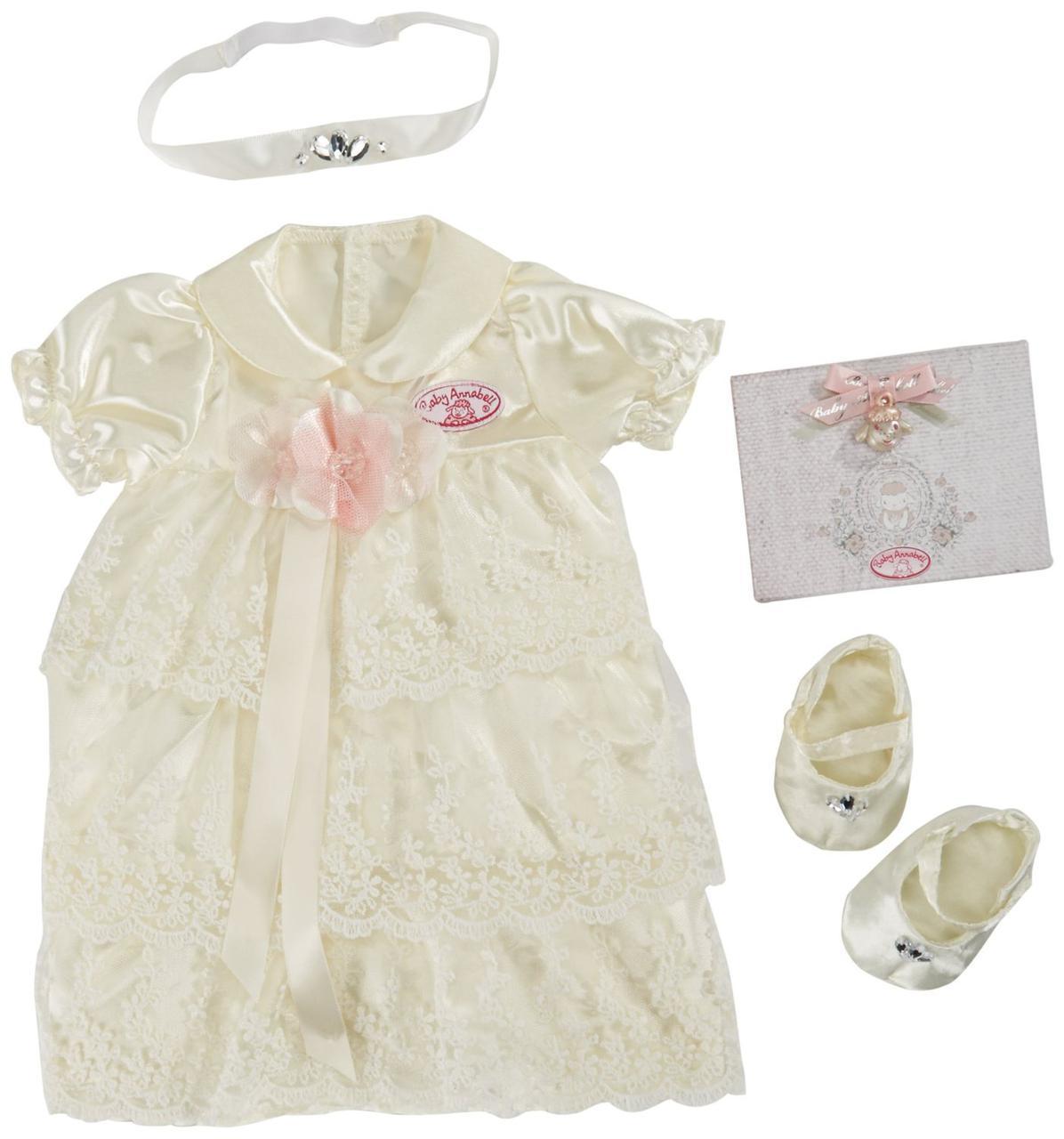 Baby Annabell Набор одежды для куклы Беби Анабель - Платье для крестин