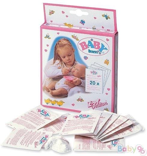 Baby Born Детское питание (12 пакетиков), закрытая коробка